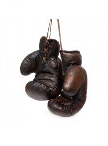 Lunchtime legend - Gants de boxe vintage ...